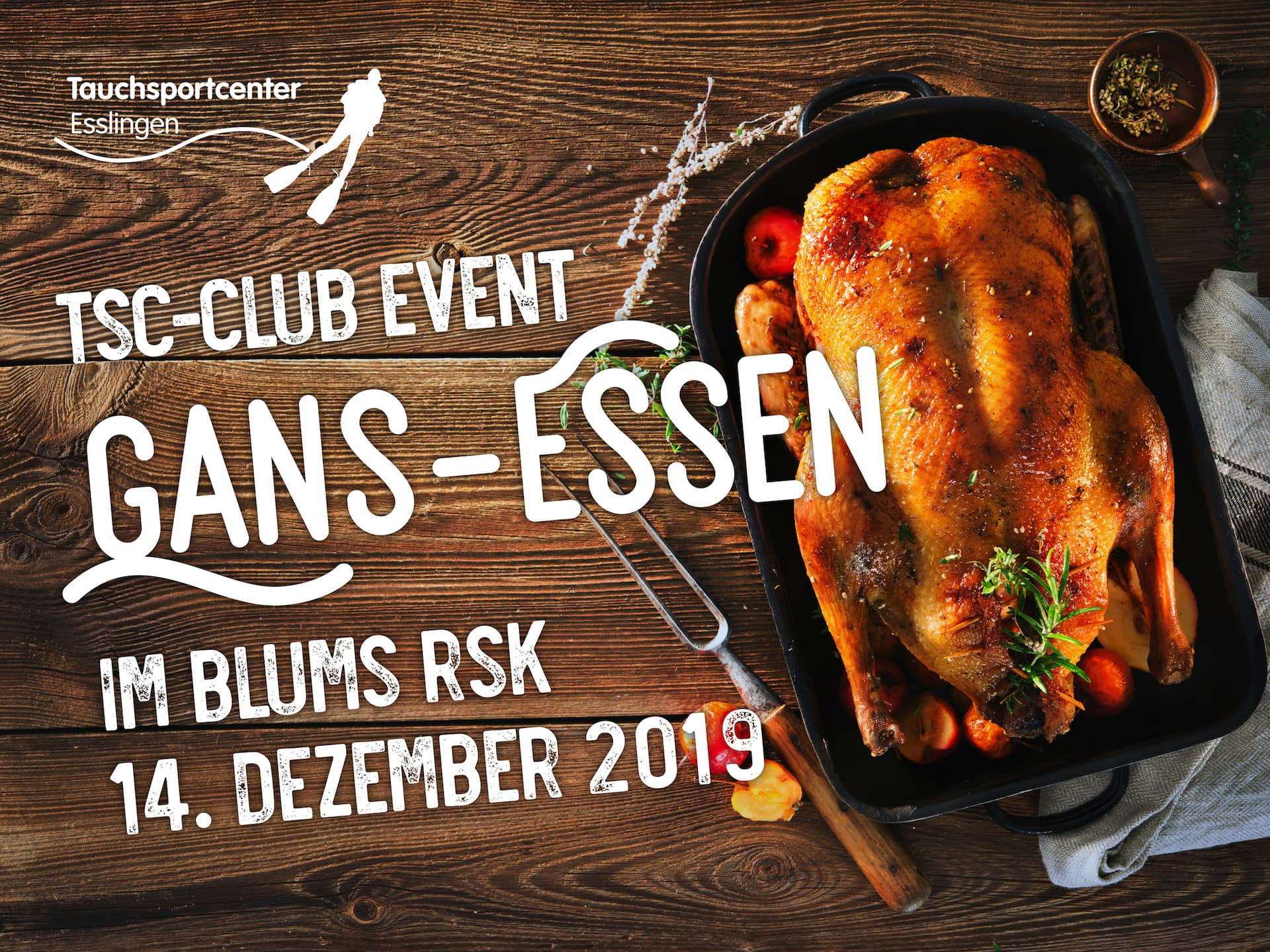 TSC-Club Event: Gans-Essen am 14.12.19