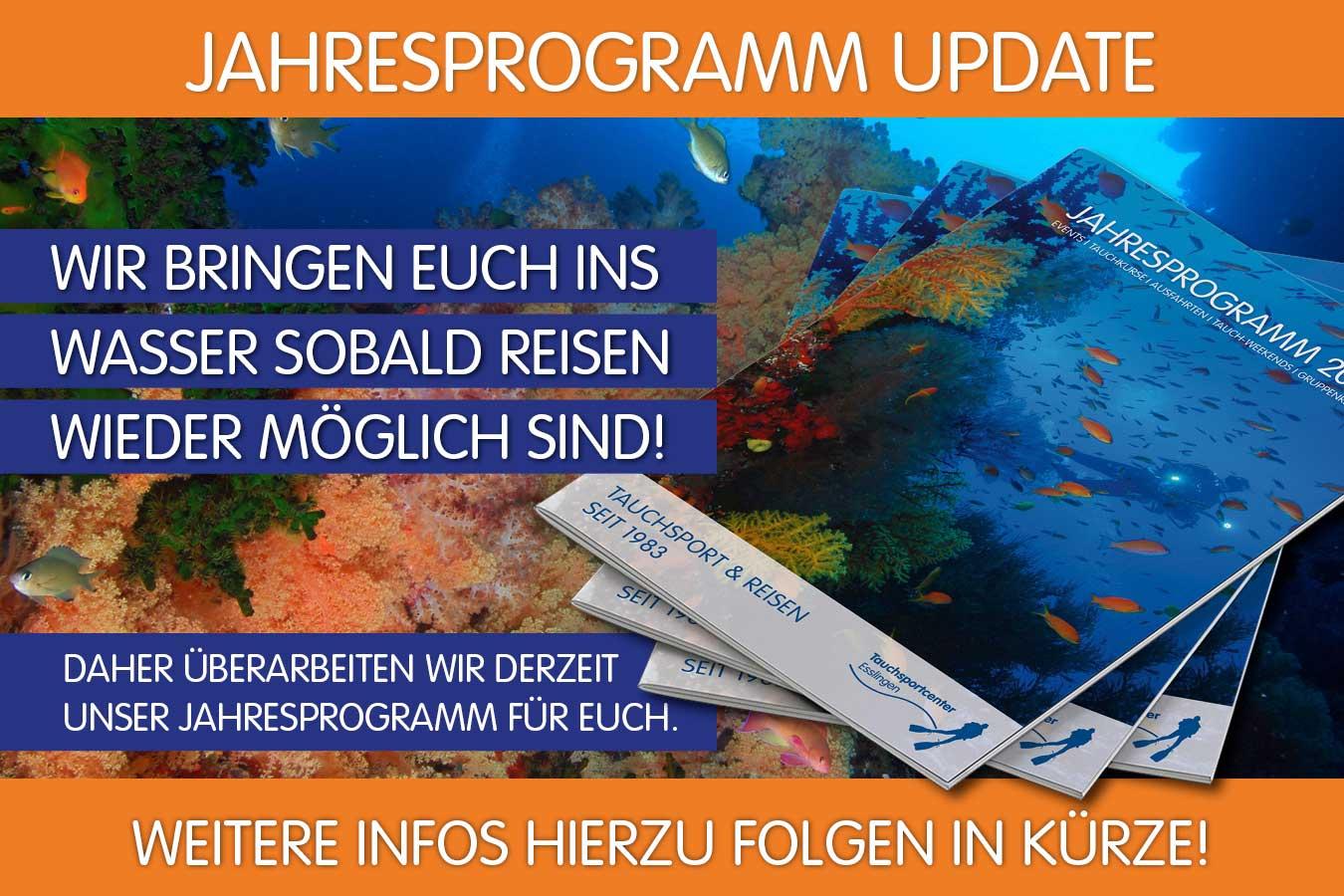 Update TSC-Reisen